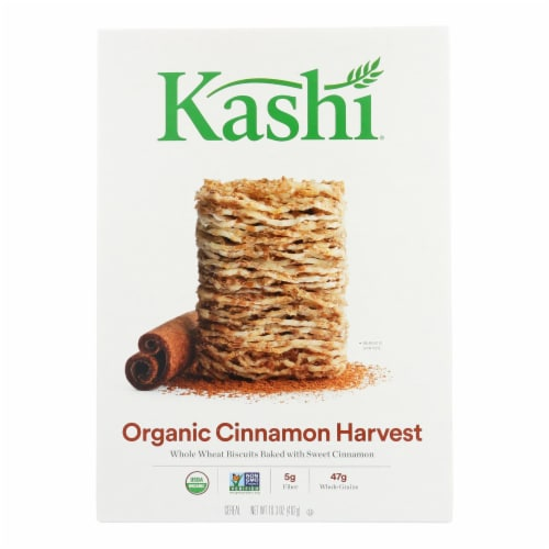 Kashi Cereal - Organic - Whole Wheat-Organic Promise - Cinnamon Harvest - 16.3oz -case of 12 Perspective: front