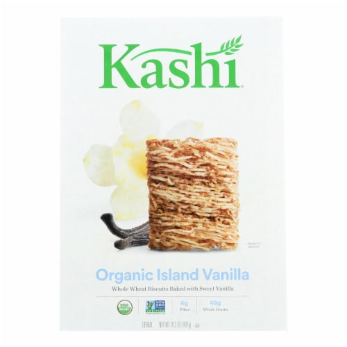 Kashi Cereal - Organic-Whole Wheat - Organic Promise - Island Vanilla - 16.3 oz - case of 12 Perspective: front