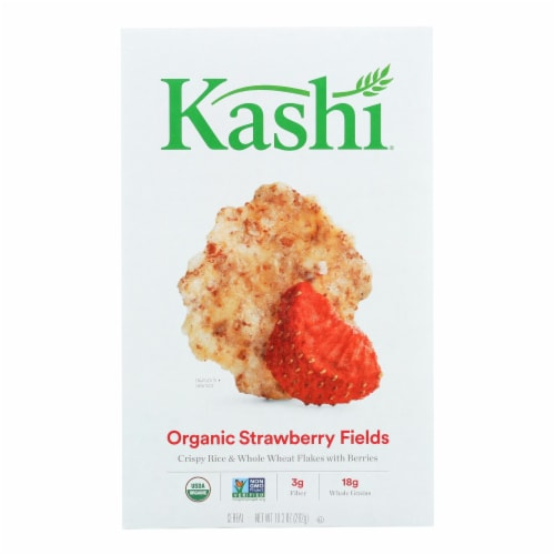 Kashi Cereal - Organic - Rice n Wheat - Org Promise - Strawberry Fields - 10.3oz - case of 12 Perspective: front