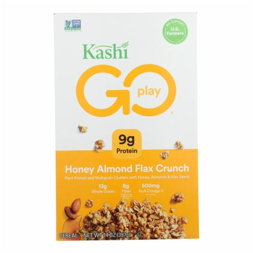 Kashi Cereal - Multigrain - Golean - Crunch - Honey Almond Flax - 14 oz - case of 12 Perspective: front