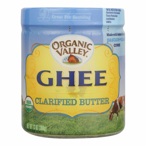 Purity Farms Ghee - Clarified Butter - Case of 12 - 13 oz. Perspective: front