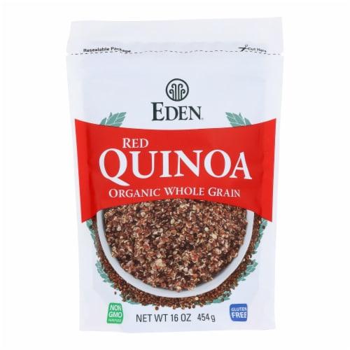Eden Foods Red Quinoa - Organic - Case of 12 - 16 oz. Perspective: front
