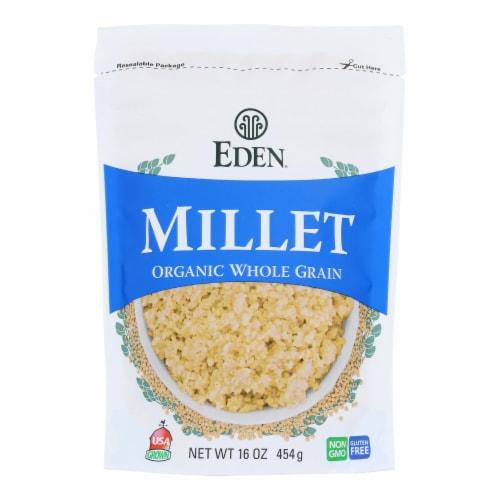 Eden Foods - Millet - Case of 12 - 16 OZ Perspective: front