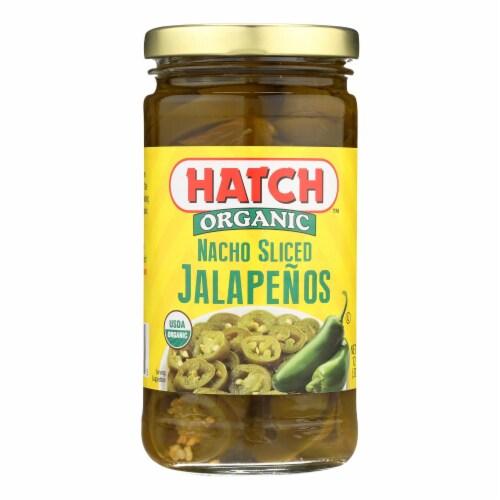 Hatch Chili Hatch Nacho Sliced Jalapenos - Jalapenos - Case of 12 - 12 oz. Perspective: front