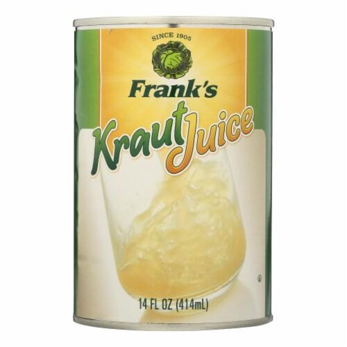 Frank's Kraut Juice - Case of 12 - 14 fl oz Perspective: front
