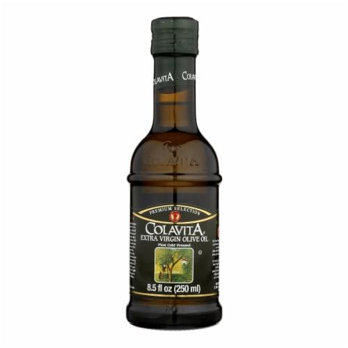 Colavita - Premium Extra Virgin Olive Oil - Case of 12 - 8.5 Fl oz. Perspective: front