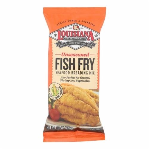 La Fish Fry New Orleans - Breading Mix - Case of 12 - 10 oz. Perspective: front
