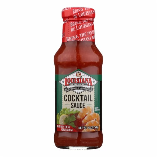 Louisiana Cocktail Sauce  - Case of 12 - 12 OZ Perspective: front