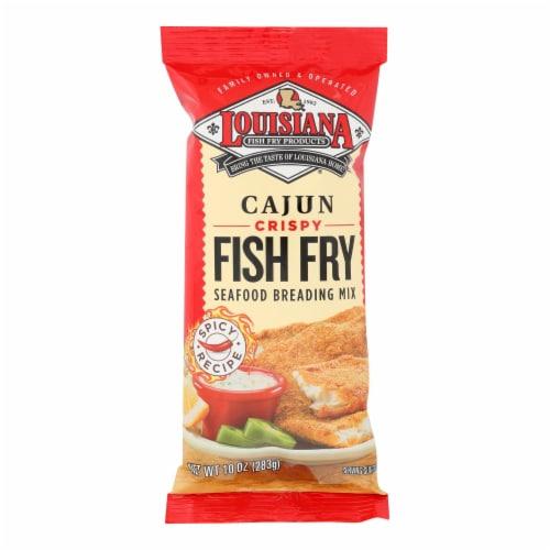 La Fish Fry Fish Fry - Cajun - Case of 12 - 10 oz Perspective: front