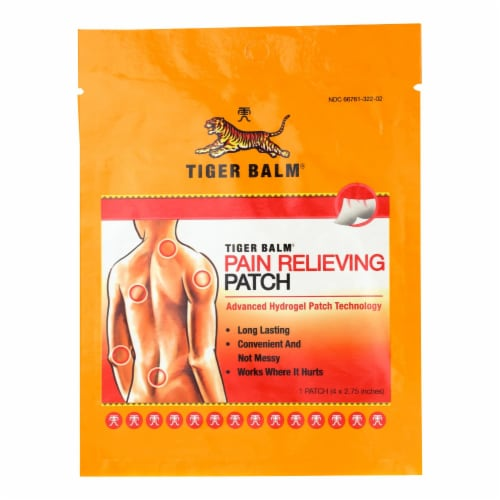 Tiger Balm - Tiger Balm Patch Single Srv - Case of 12 - 1 CT Perspective: front