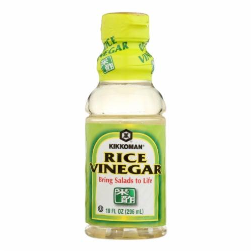 Kikkoman Kikko Rice Vinegar - Case of 12 - 10 fl oz Perspective: front