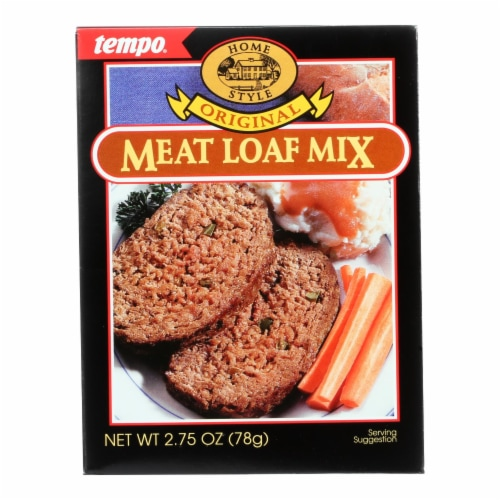 Tempo Home Style Meatloaf Mix - Original - 2.75 oz - Case of 12 Perspective: front