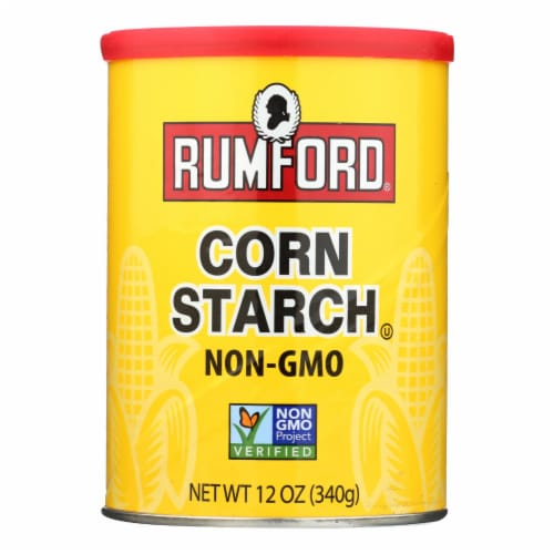 Rumford Corn Starch - Case of 12 - 12 OZ Perspective: front