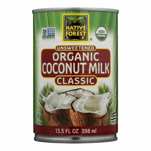Native Forest Organic Classic - Coconut Milk - Case of 12 - 13.5 Fl oz. Perspective: front