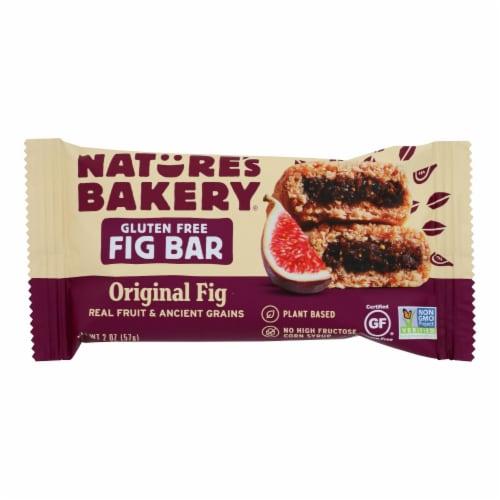 Nature's Bakery Gluten Free Fig Bar - Original - Case of 12 - 2 oz. Perspective: front