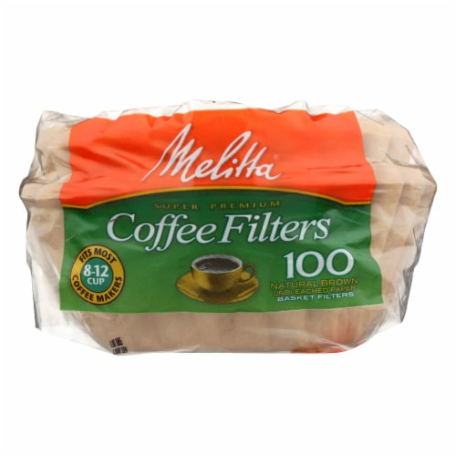 Melitta - Coffee Filter 8-12 Cup Nb - Case of 24 - 100 CT Perspective: front