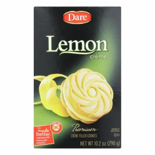 Dare - Cookies - Lemon Creme - Case of 12 - 10.2 oz. Perspective: front