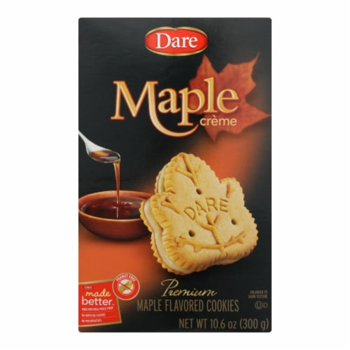 Dare Maple Creme - Case of 12 - 10.6 OZ Perspective: front