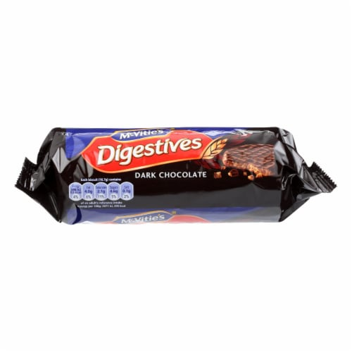 Mcvities - Biscuit Digestive Dark Chocolate - Case of 12-10.5 OZ Perspective: front
