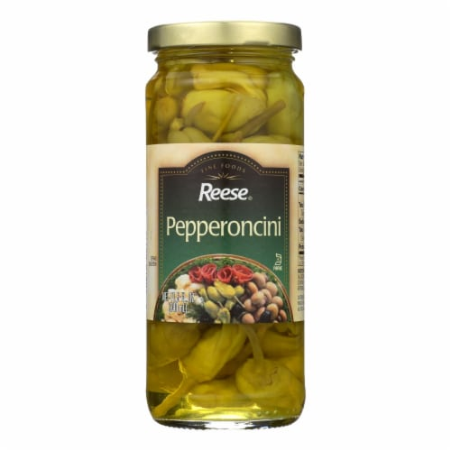 Reese Pepperoncini - Jar - Case of 12 - 11.5 oz Perspective: front