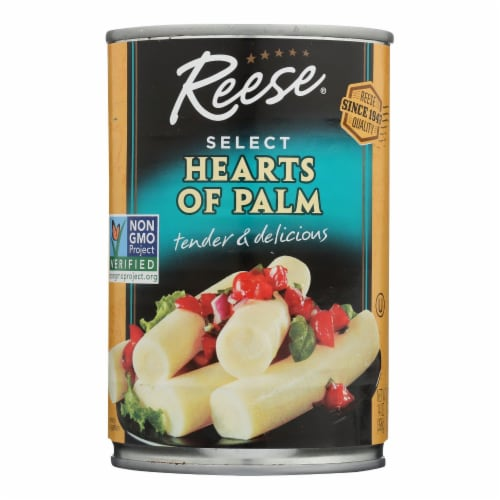 Reese Hearts Of Palm - 14 oz - case of 12 Perspective: front
