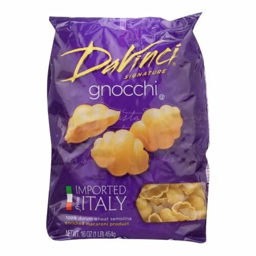 DaVinci - Gnocchi Pasta - Case of 12 - 1 lb. Perspective: front