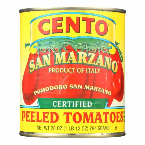 Cento - Peeled Tomatoes - Case of 12 - 28 oz. Perspective: front
