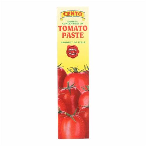 Cento - Tomato Paste - Tube - Case of 12 - 4.56 oz. Perspective: front