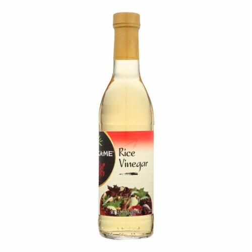 Ka'Me Rice Vinegar - Case of 12 - 12.7 Fl oz. Perspective: front