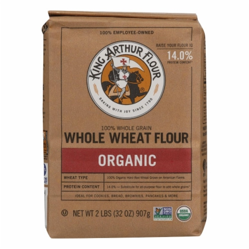 King Arthur Whole Wheat Flour - Case of 12 - 2 Perspective: front