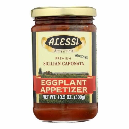 Alessi - Eggplant Appetizer - Caponata - Case of 12 - 10.5 oz. Perspective: front