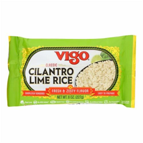 Vigo - Rice Cilantro Lime - Case of 12 - 8 OZ Perspective: front