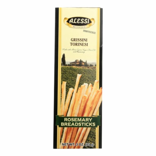 Alessi - Breadsticks Rosemary - Case Of 12 - 3 Oz Perspective: front