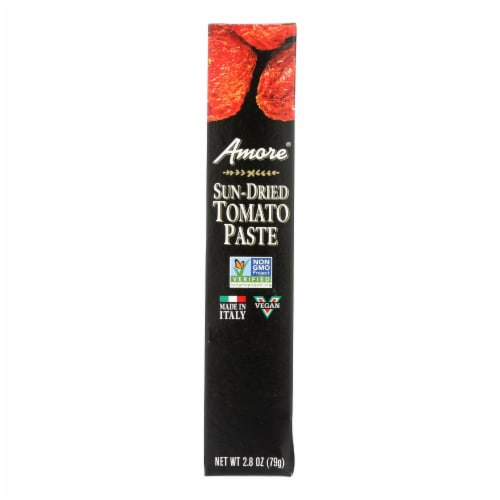 Amore - Sun Dried Tomato Paste Tube - Case of 12 - 2.8 oz Perspective: front
