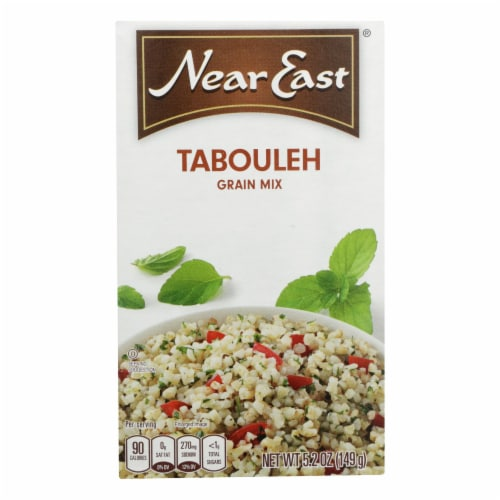 Near East Tabbouleh Mix - Wheat Salad - Case of 12 - 5.25 oz. Perspective: front