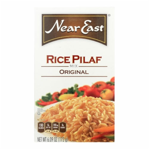 Near East Rice Pilafs - Original - Case of 12 - 6 oz. Perspective: front