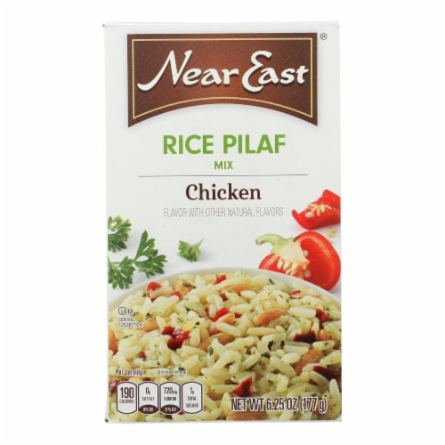 Near East Rice Pilaf Mix - Chicken - Case of 12 - 6.25 oz. Perspective: front