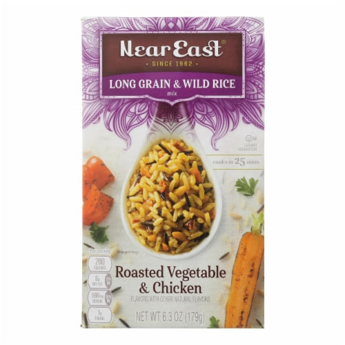 Near East Rice Pilaf - Mediterranean Chicken - Case of 12 - 6.3 oz Perspective: front