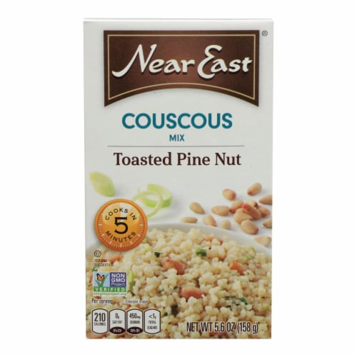 Near East Couscous Mix - Toasted Pine Nut - Case of 12 - 5.6 oz. Perspective: front