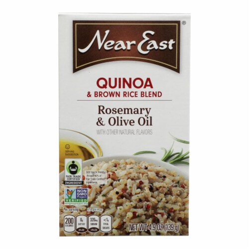 Near East Quinoa - Olive Oil - Case of 12 - 4.8 oz. Perspective: front