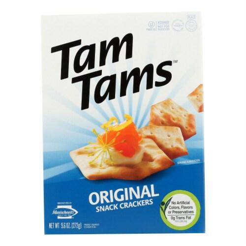 Manischewitz - Tam Original Snack Crackers - Case of 12 - 9.6 oz. Perspective: front