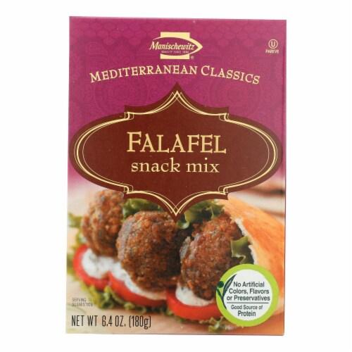 Manischewitz - Falafel Mediterranean Snack Mix - Case of 12 - 6.4 oz. Perspective: front