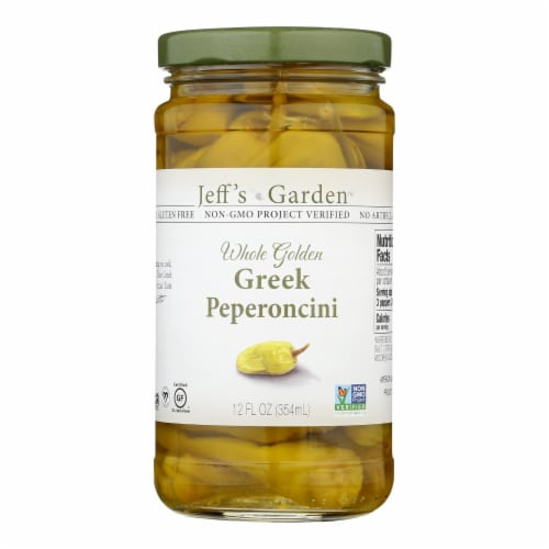 Jeff's Natural Jeff's Natural Greek Pepperoncini - Pepperoncini - Case of 6 - 12 oz. Perspective: front