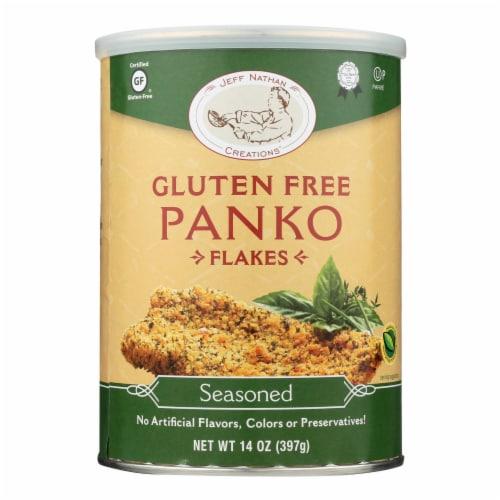 Jeff Nathan Creations Jeff Nathan Creations Gluten Free Panko - Panko - Case of 12 - 14 oz. Perspective: front