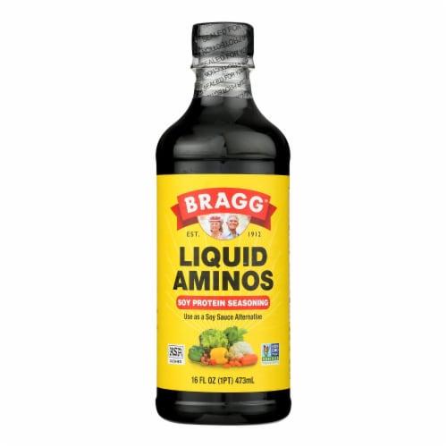 Bragg - Liquid Aminos - 16 oz - case of 12 Perspective: front