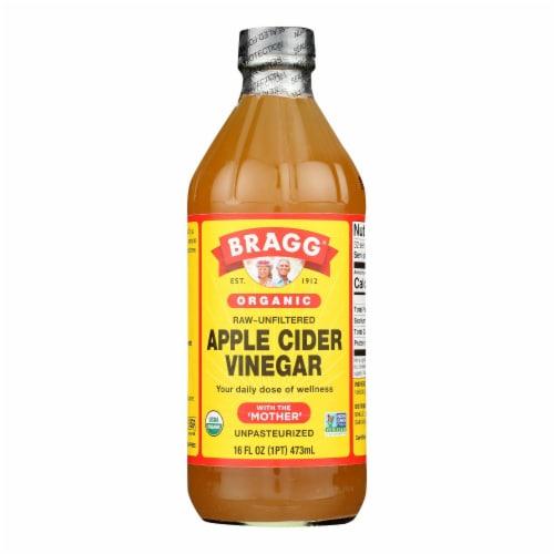 Bragg - Apple Cider Vinegar - Organic - Raw - Unfiltered - 16 oz - 1 each Perspective: front