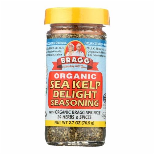 Bragg - Seasoning - Organic - Sea Kelp Delight - 2.7 oz - case of 12 Perspective: front