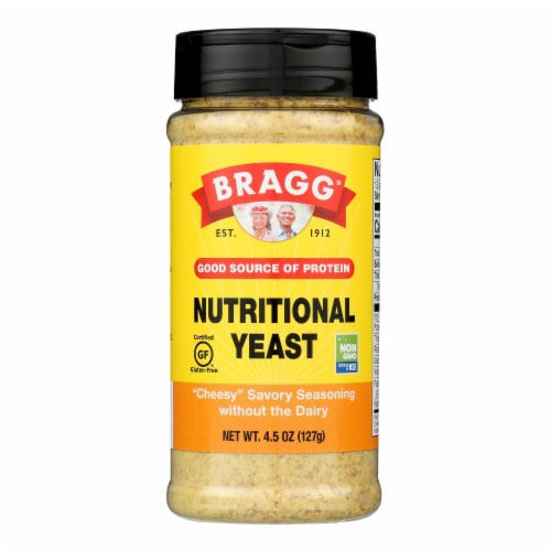 Bragg - Seasoning - Nutritional Yeast - Premium - 4.5 oz - case of 12 Perspective: front
