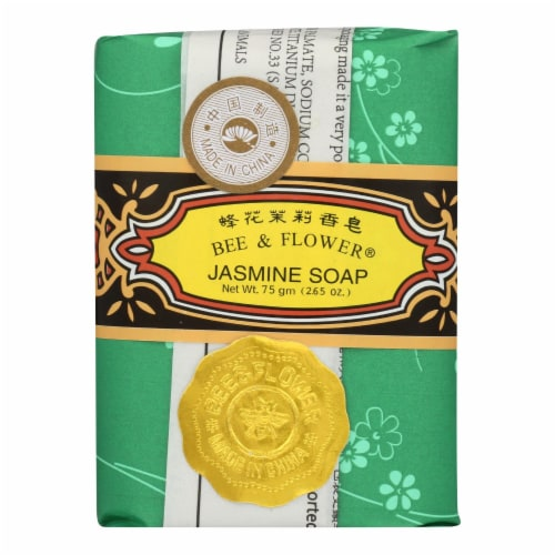 Bee and Flower Soap Jasmine - 2.65 oz - Case of 12 Perspective: front