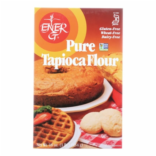 Ener-G Foods - Flour - Tapioca - Pure - Wheat Free - 16 oz - case of 12 Perspective: front